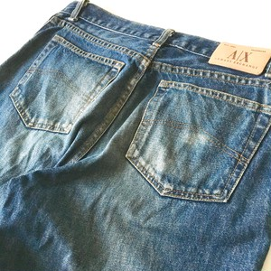 ARMANI EXCHANGE (A|X)  :  5 pocket jeans (used)