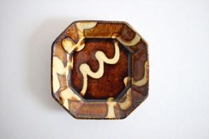 中川紀夫(紀窯)|八角皿 小