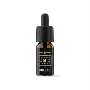 PharmaHemp CBDオイル 6.6% プレミアムブラック