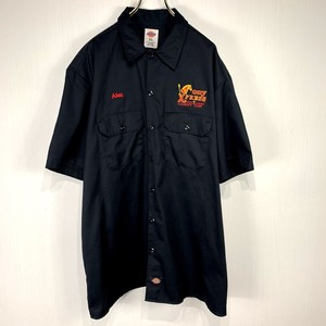 【Dickies】Short-sleeved shirt