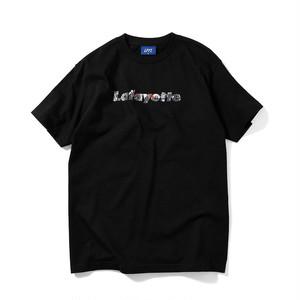 """Lafayette(ラファイエット)""""LFYT エルエフワイティー FRENCH REVOLUTION Lafayette LOGO TEE """"[BLACK"""