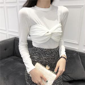 【トップス】初春ファッション合わせやすい無地インナーTシャツ