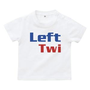 送料無料!【白・水色・ピンク】レフト!ベビーTシャツ