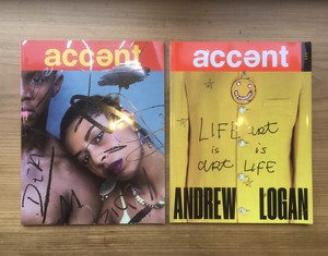 『ACCENT Magazine』Issue1+Issue2