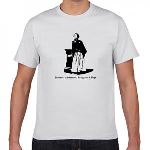 坂本龍馬 幕末 志士 海援隊 歴史人物Tシャツ003