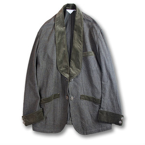 Smoking jacket [Brown]