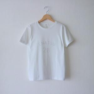 ENATSU Tシャツ・ホワイト