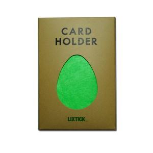 Lixtick Paper Card Holder ~NEON GREEN~