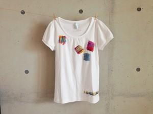 さをりTシャツ(M・白)