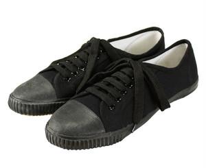 Blackmans Shoes ラバートゥ・プリムソールシューズ (ブラック) レディース