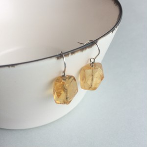 Citrine , pierce