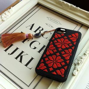 こぎん刺しiPhone5用ケース