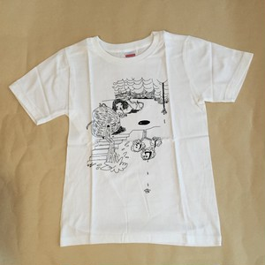 【SALE】shinowa T-shirt (White/150cm)