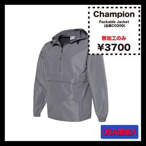 <<無加工のみ>> Champion Packable Jacket (品番CO200)
