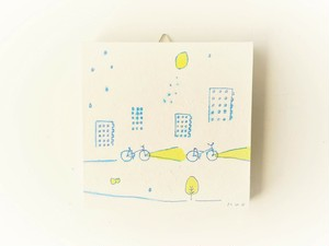 【受注制作】「レモンの夜に君とゆく」 ※ミニアートパネル