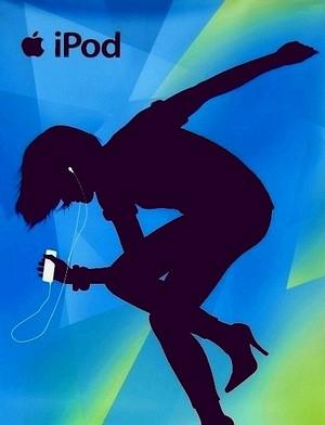 *Apple iPod **Original RARE** Posters * SHAPES *