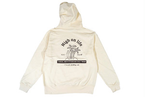 【high on life hoodie】 / off white
