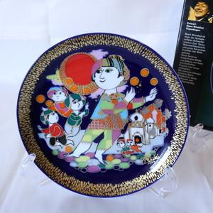 【CR1912-G12】ローゼンタール アラジン ヴョルンヴィンブラッドの絵皿 金の装飾
