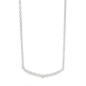 K10WG ダイヤモンド 0.10ct ネックレス