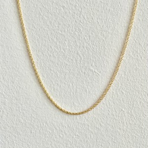 【GF1-116】18inch gold filled chain necklace