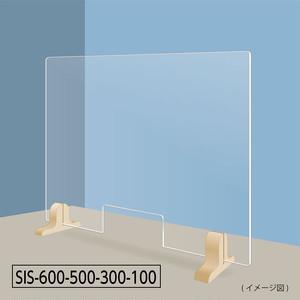 飛沫感染防止ストッパー 600×500(窓付き)