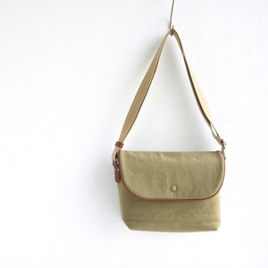 CANVAS FLAP SHOULDER S / MOSS GREEN