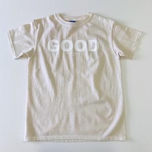 NEST焼津限定カラーGOOD ON LOGO S/S Tシャツ ピグメントナチュラル
