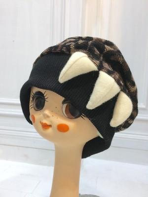 NIGATSU アニマルニット帽