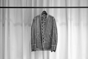 21SS ご予約商品 ASKYY / OFFICER JACKET-2021- / DYE