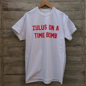 ZULUS ON A TIME BOMB  T-shirts col.WHITE