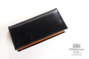 ホワイトハウスコックス|WHITEHOUSE COX|長財布|ロングウォレット|S1799 LONG WALLET|BLACK×NEWTON