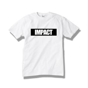 【送料無料】Tシャツ IMPACT / white-black