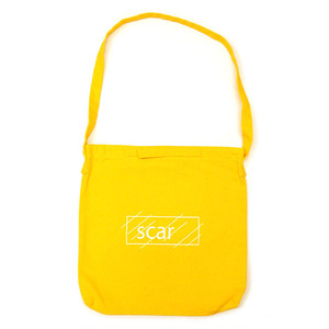 scar /////// OG LOGO 2WAY SHOULDER BAG (Yellow)