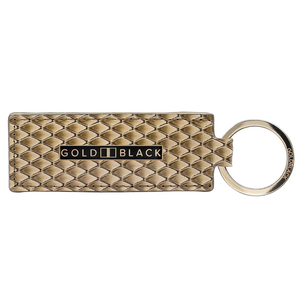 ゴールドブラック(GOLDBLACK) KEY RING SARA BEIGE