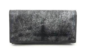 RE.ACT Bridle Leather Long Wallet Black