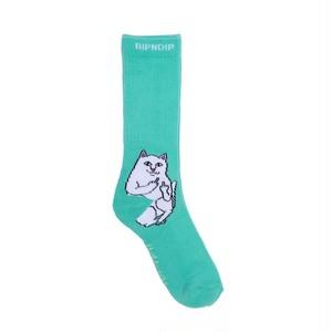 RIPNDIP - Lord Nermal Socks (Mint)