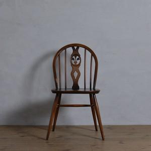 Ercol Thistleback Chair 【A】 / アーコール シスルバック チェア 〈ダイニングチェア・デスクチェア・椅子・コロニアル〉 SB2101-0003 【A】