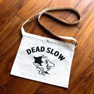 DEAD SLOW キャンバス サコッシュ