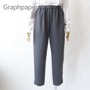 Graphpaper/グラフペーパー・Satin Easy Pants