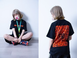 MIX LOGO T-SHIRTS[黒]