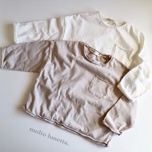カットオフ シンプルT 2色 韓国買い付け品 韓国子供服 子供服 韓国子供服男の子 子供服キッズ 韓国子供服 女の子 子供服ロンT (TS0032)