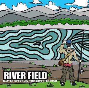 釣り ステッカー 「RIVER FIELD」