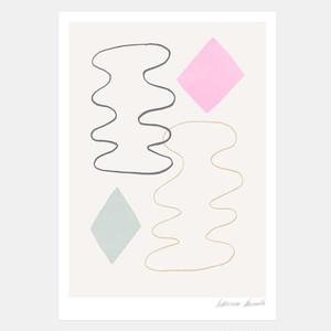 "50% OFF // Hanna Konola A4 Art Print ""Dancing"""