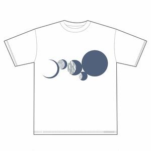 月転 -GETTEN- Tシャツ ホワイト