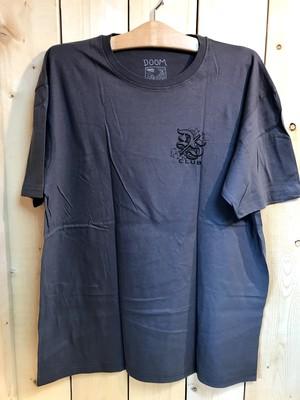 "DOOM SAYERS ""WIDOW"" TEE /CHARCOAL GREY (ドゥームセイヤーズ Tシャツ/TEE)"