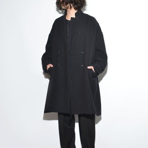 "All Matching - Wool Coat ""Double""  〈Black〉"