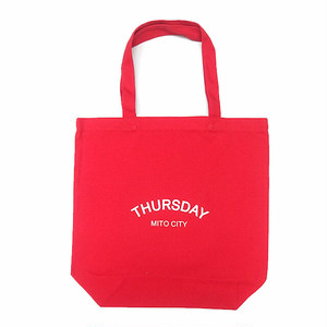 THURSDAY - ARCH TOTE BAG (Red)