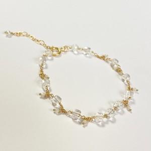 【heartwarming bracelet】 Clear Quartz(クリアクォーツ)