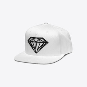 Diamond SUPPLY CO. BRILLIANT SNAPBACK WHITE