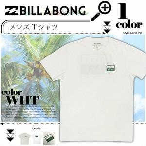 AJ011-291 ビラボン Tシャツ 人気ブランド メンズ おしゃれ 半袖 プリント プレゼント 通販 夏 海 M BILLABONG